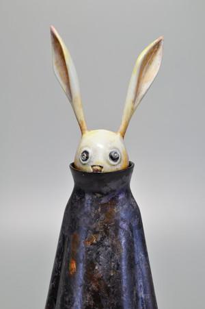 怖いウサギ アップ