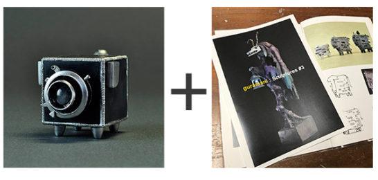 トレフェスオンライン01限定 「カメラ犬+作品集セット」